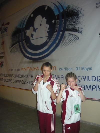 Antalya 2011. Csősz Nikolett már biztos érmes!