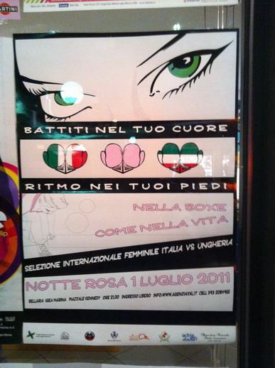 Ismét Olaszországban bokszoltak a lányok