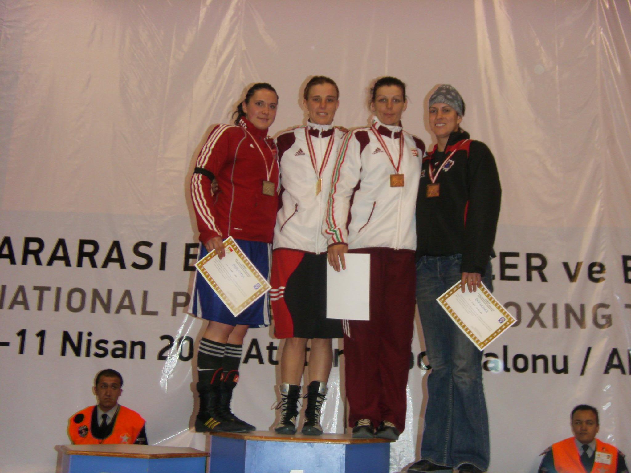 Kovács Mária aranyérmet szerzett!