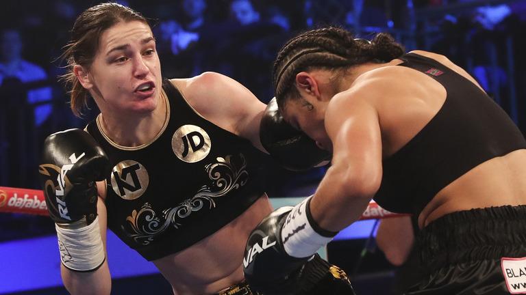 Katie Taylor vs Jessica McCaskill