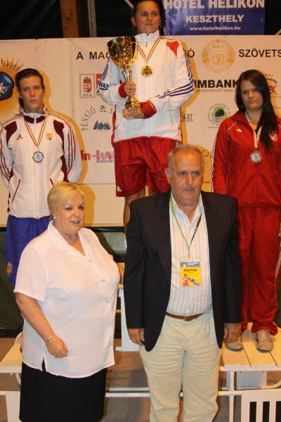 Kovács Mária és Nagy Bianka aranyérmes!