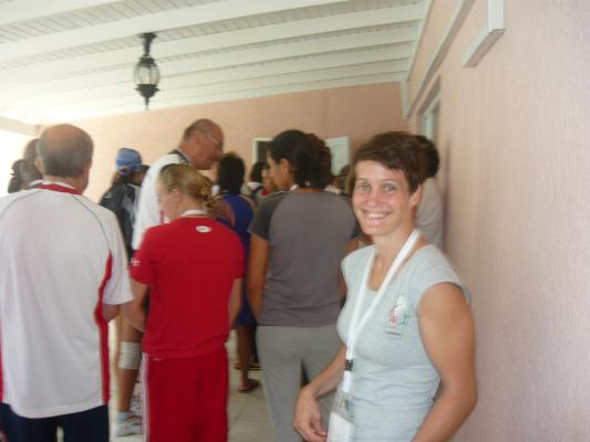 Barbados VB-Két továbbjutó az első nap