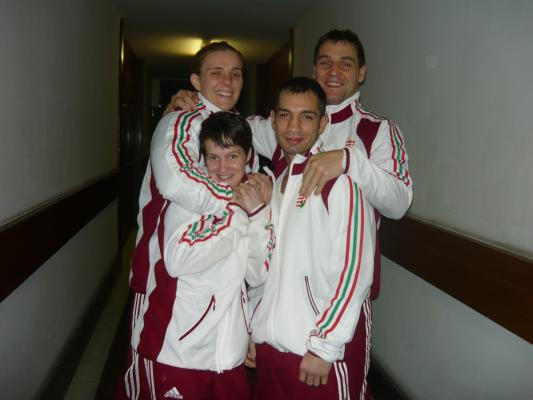 Három bronzérem Usti Nad Labem-ben